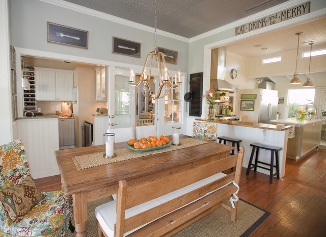 Austin Modern Farmhouse farmhouse kitchen