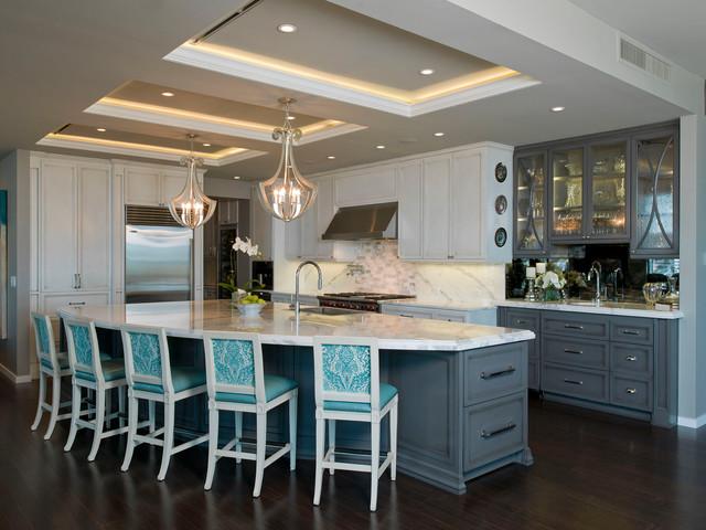 Austonian Luxury Condo Contemporary Kitchen Austin By Bravo Delectable Kitchen Design Austin