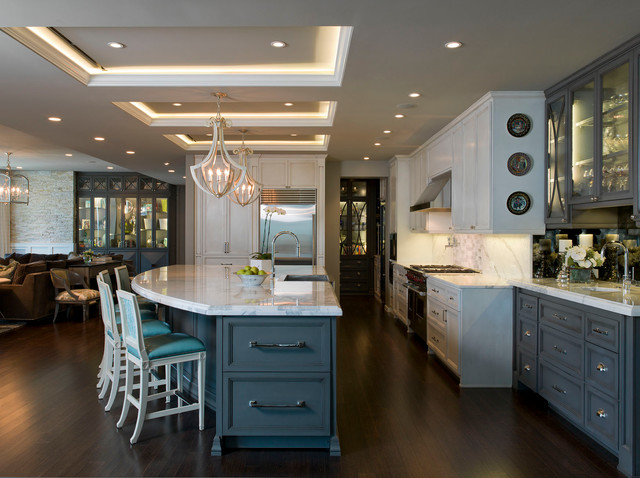 Austonian Luxury Condo Contemporary Kitchen Austin