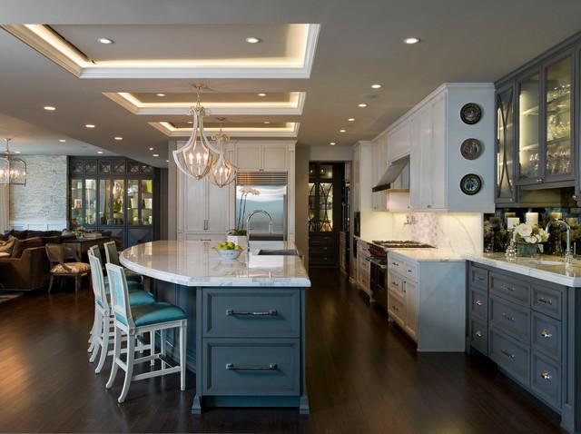 Austonian Luxury Condo Contemporary Kitchen Austin