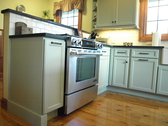 Contented by Sherwin Williams, this kitchen Consented traditional-kitchen