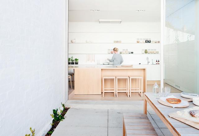 Australian Interior Design Awards 2015 Scandinavian Kitchen Sydney By Australian