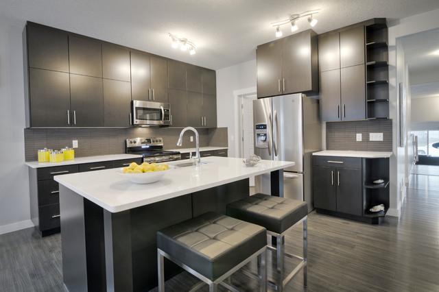 Austyn Ii B Contemporary Kitchen Edmonton By Daytona Homes