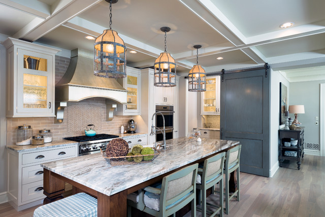 Authentic Charm Traditional Kitchen