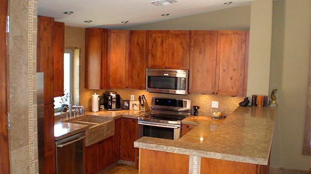 Authentic Durango Noche™ Kitchen Countertops contemporary-kitchen