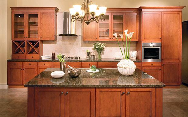 Autumn Cherry traditional-kitchen