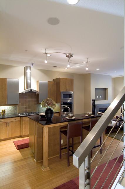 Autumn Home contemporary-kitchen