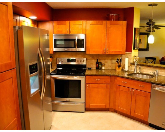 Autumn Shaker Kitchen Cabinets - Autumn Shaker Kitchen Cabinets from http://www.rtacabinetstore.com used by customers and contractors