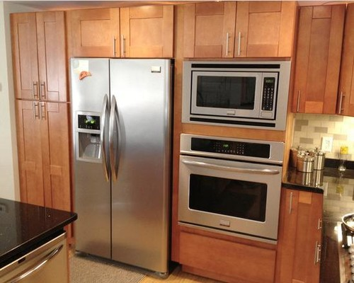 Love The Built In Microwave And Trim Kit