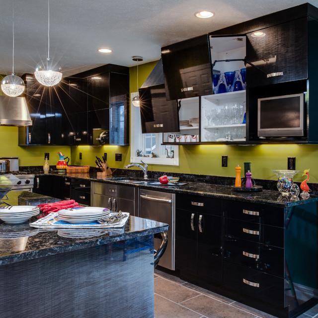 Avante-Garde Experimentations contemporary-kitchen