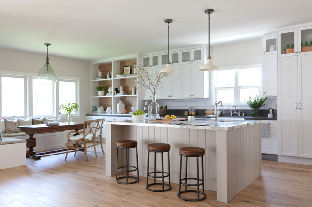 ave a farmhouse kitchen los angeles by kate lester
