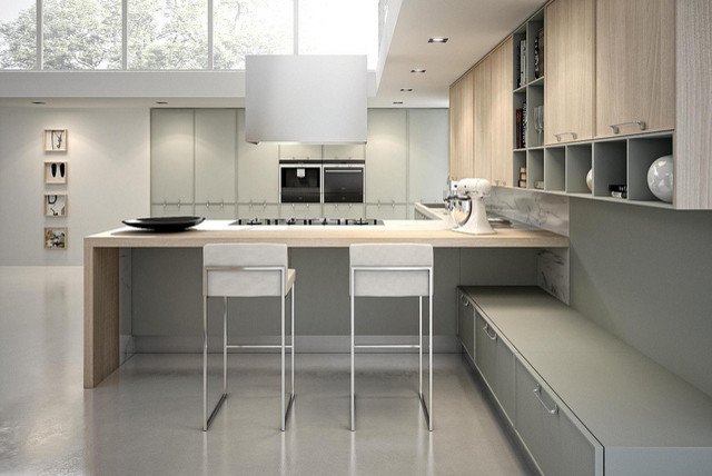 Avenue by aster cucine contemporary kitchen new york for Aster cucine kitchen cabinets