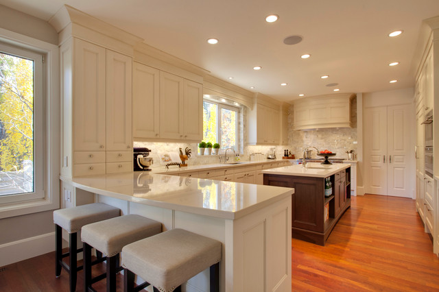 Avenue project traditional kitchen calgary by empire kitchen bath - Empire kitchen and bath ...