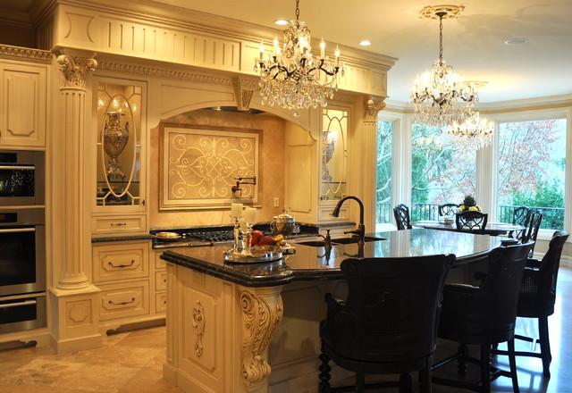 Avish Lane traditional-kitchen