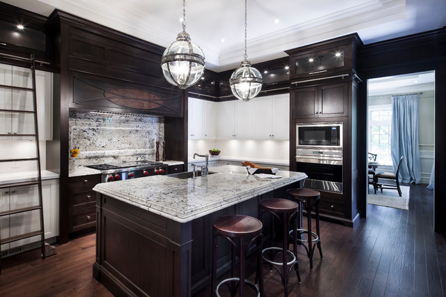 Commodel Kitchen : Hush Homes - Oakville Model Home - Contemporary - Kitchen - toronto ...