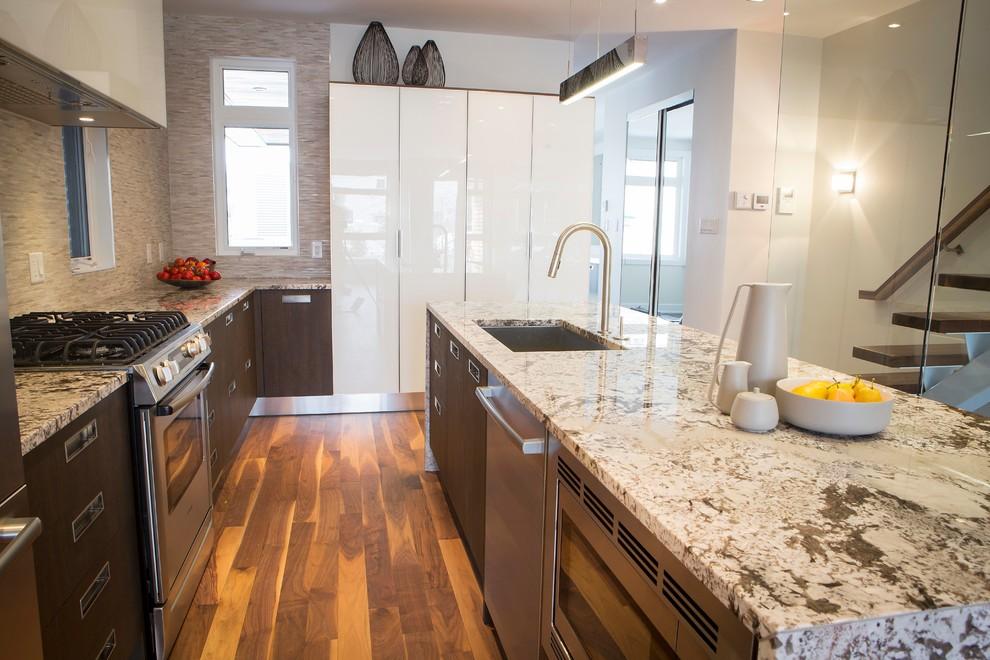 Award-Winning Contemporary Westboro Kitchen by Astro ...