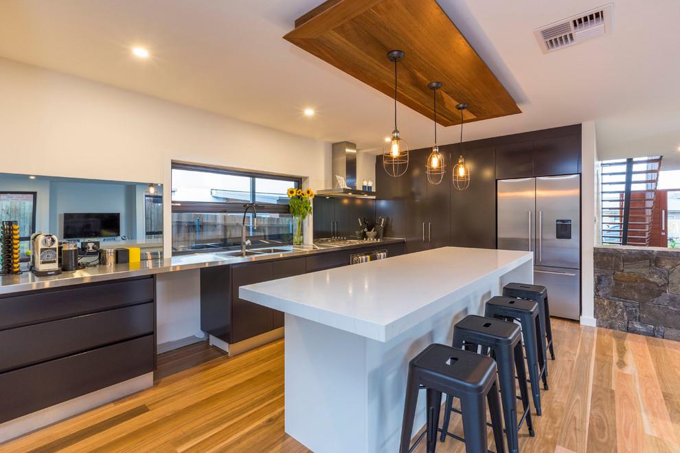 Award Winning Home - Contemporary - Kitchen - Canberra ...