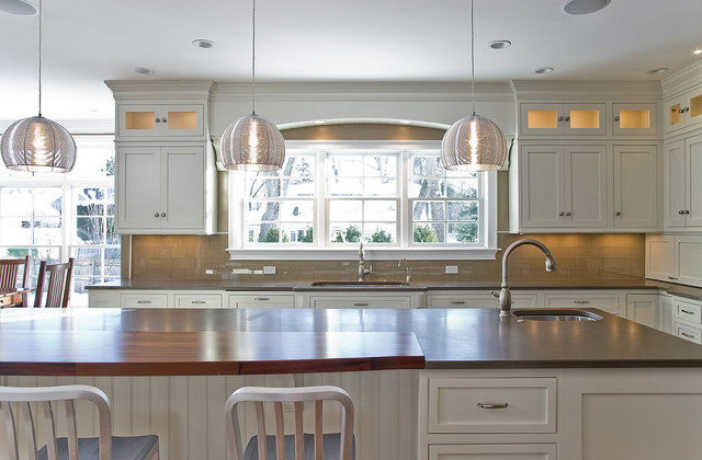 Award winning kitchen in Massachusetts traditional kitchen