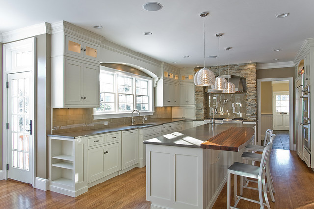 Beau Award Winning Kitchen In Massachusetts Farmhouse Kitchen