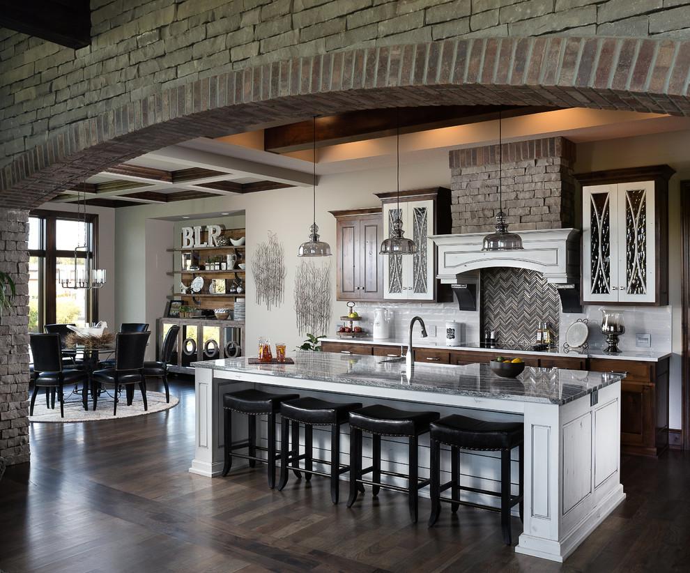 Award-Winning Modern Rustic Model Home - Rustic - Kitchen ... on Modern Model Kitchen  id=14841