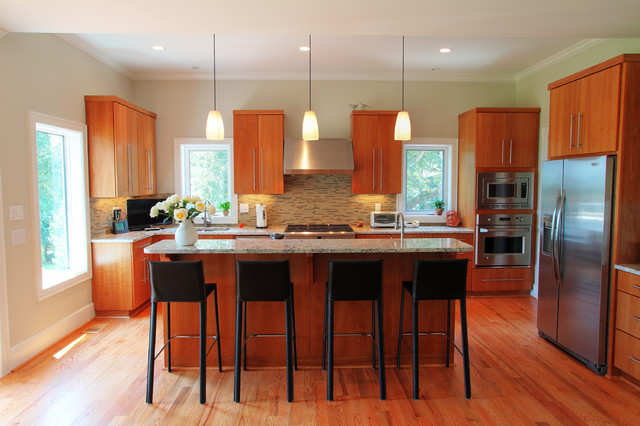 Awendaw Waterfront Home traditional-kitchen