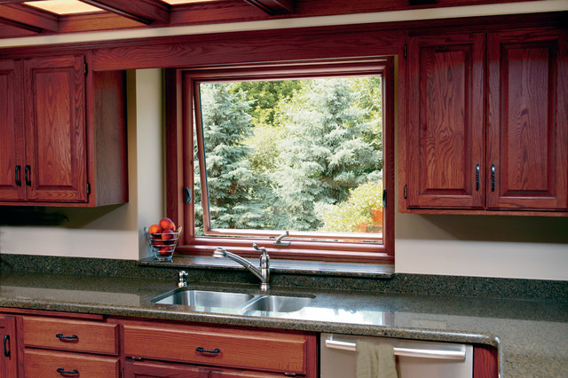 Awning Windows traditional-kitchen