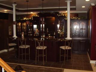 Awsome Bar & Bath In Montclair Cherry Square In Autum Blush Finish By KraftMaid - Traditional ...
