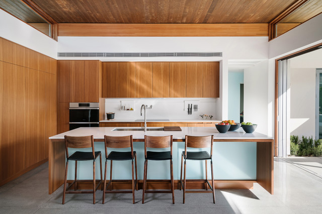 How Much Room You Need for a Kitchen Island | Houzz AU
