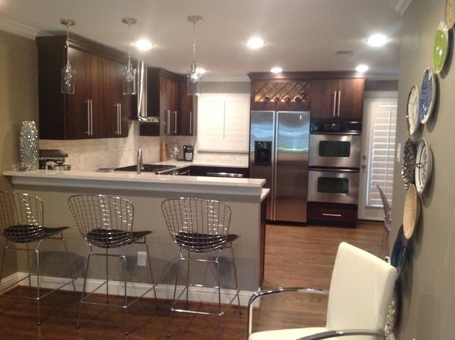 Axton Contemporary Kitchen Dallas By Dfw Design