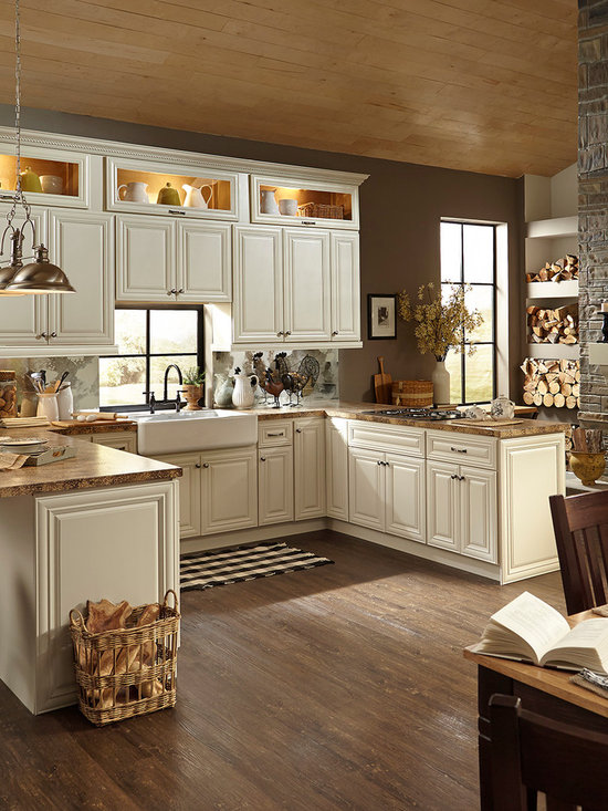 Victoria ivory home design ideas pictures remodel and decor for Kitchen cabinets victoria