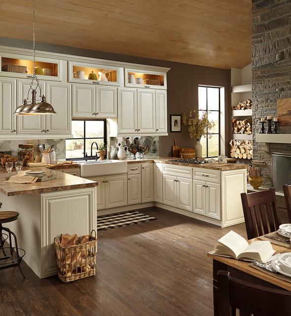 B Jorgsen Co Victoria Ivory Kitchen Cabinets