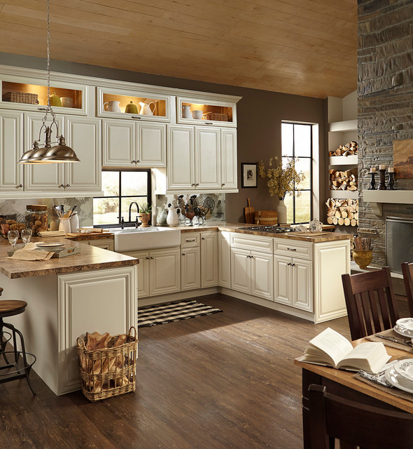 B Jorgsen Co Victoria Ivory Kitchen Cabinets American Traditional Kitchen Detroit By Cabinets To Go
