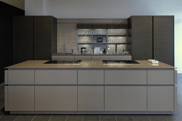 b tradeshows leicht factory minimalistisch k che san francisco von leicht haus. Black Bedroom Furniture Sets. Home Design Ideas