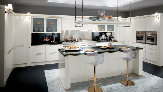 Baccarat Kitchen   Scavolini Traditional Kitchen