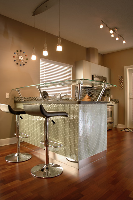 Bachelor Condo Contemporary Kitchen Other Metro By
