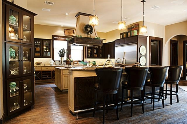 bachelor pad traditional kitchen dallas by in sight designs unlimted. Black Bedroom Furniture Sets. Home Design Ideas