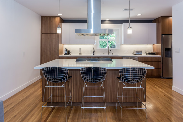 Bachelor Pad Contemporary Kitchen Los Angeles By