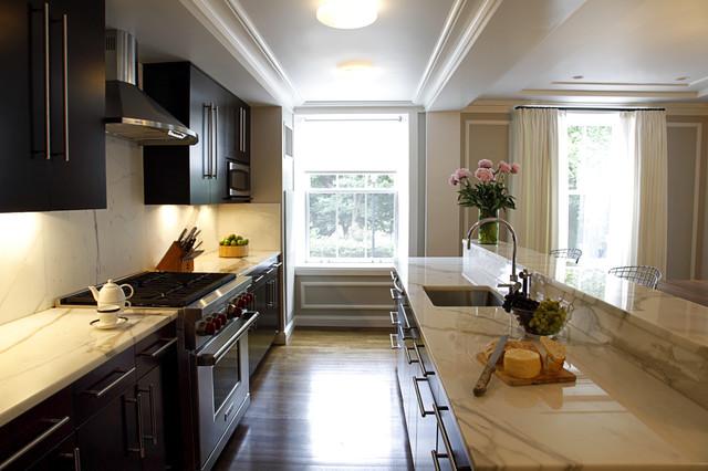 Back Bay Kitchen contemporary-kitchen