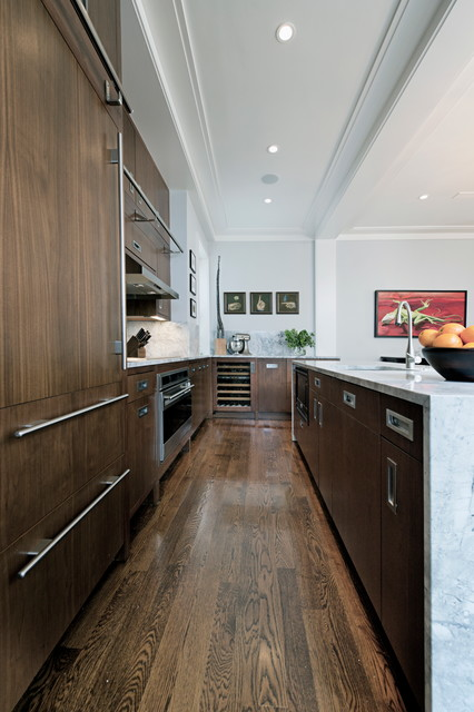 Back Bay Penthouse Contemporary Kitchen Boston By Schranghamer Design Group Llc