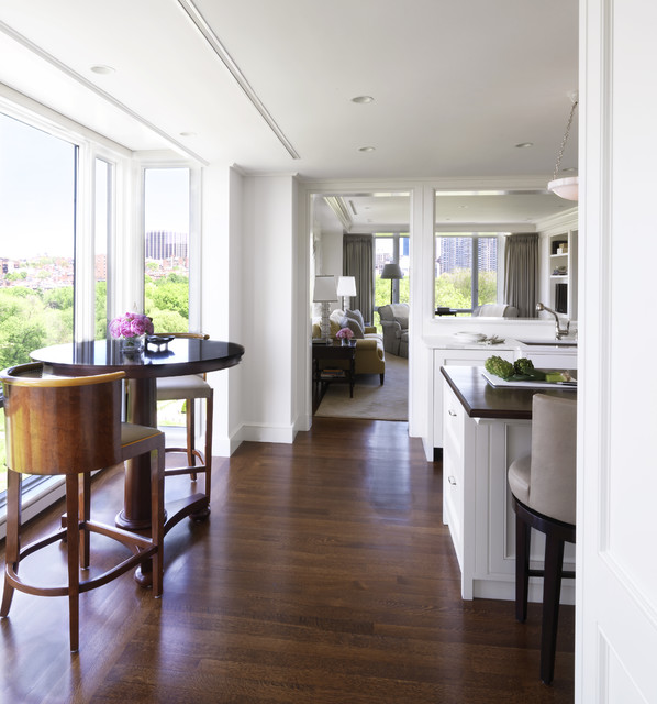 Back Bay Pied A Terre Traditional Kitchen Boston