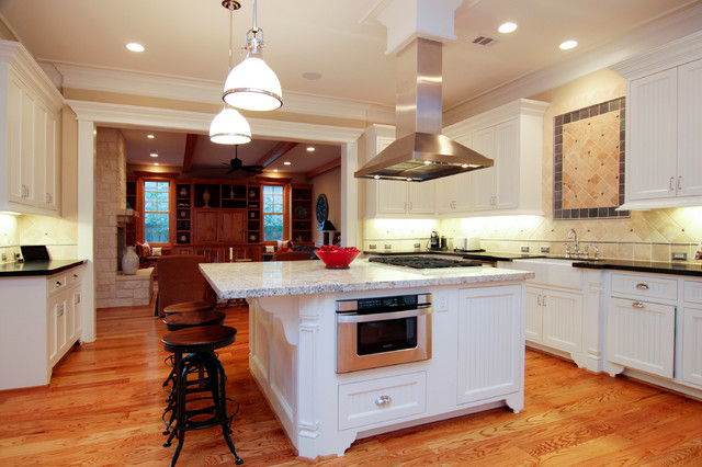 Back Home Traditional Kitchen Houston By Stone