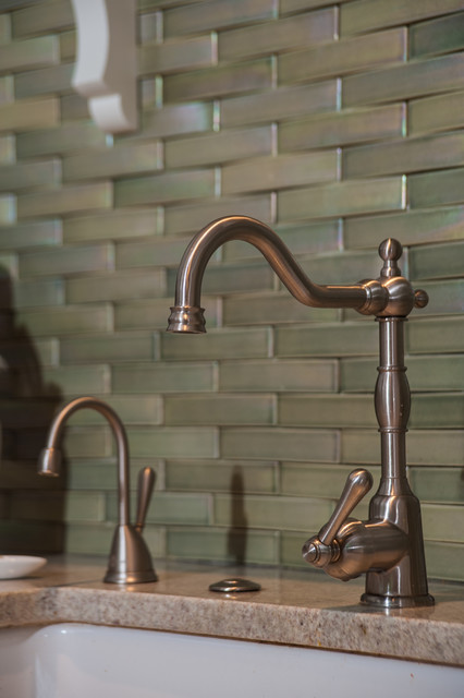 backsplash and faucet traditional kitchen by lindsey m roberts