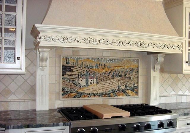 Backsplash mediterranean-kitchen