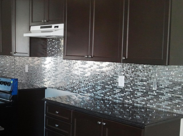 Backsplash collections by keramin tiles http www Kitchen backsplash ideas stainless steel