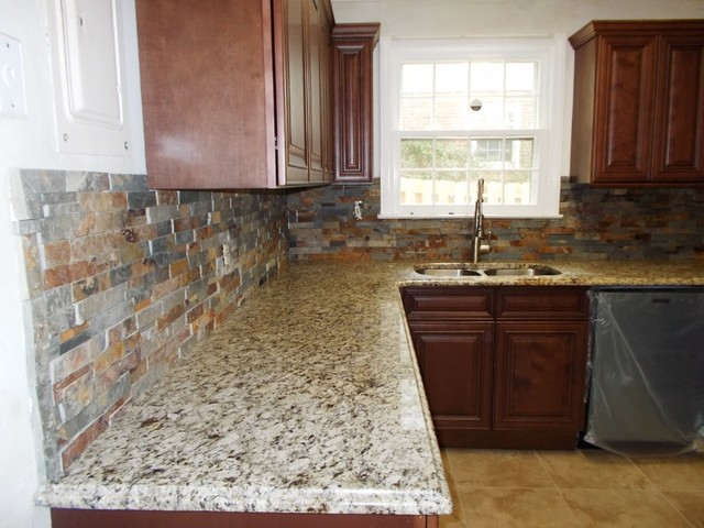 Traditional Backsplash Ideas Part - 20: BACKSPLASH Design Ideas VOL 2 Traditional-kitchen