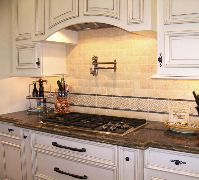 Backsplash Detail Traditional Kitchen San Diego By Design