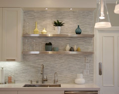 Backsplash detail contemporary-kitchen