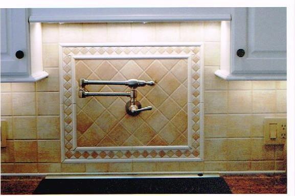 Backsplash Detail traditional-kitchen