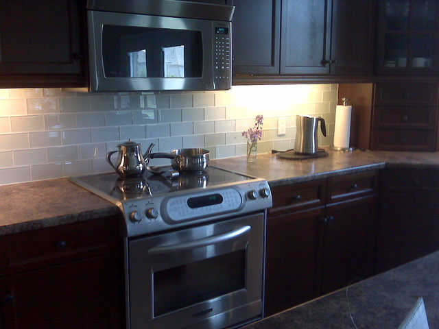 Backsplash Exclusives modern kitchen