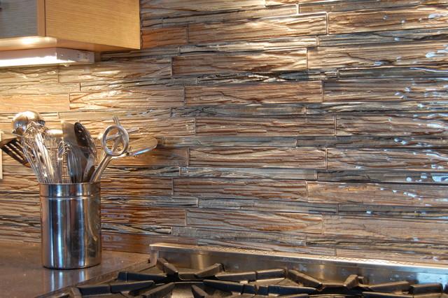 Backsplash Tile Detail Contemporary Kitchen Other